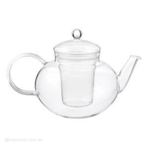 Produktfotografie Glas-Teekanne für Onlinehandel
